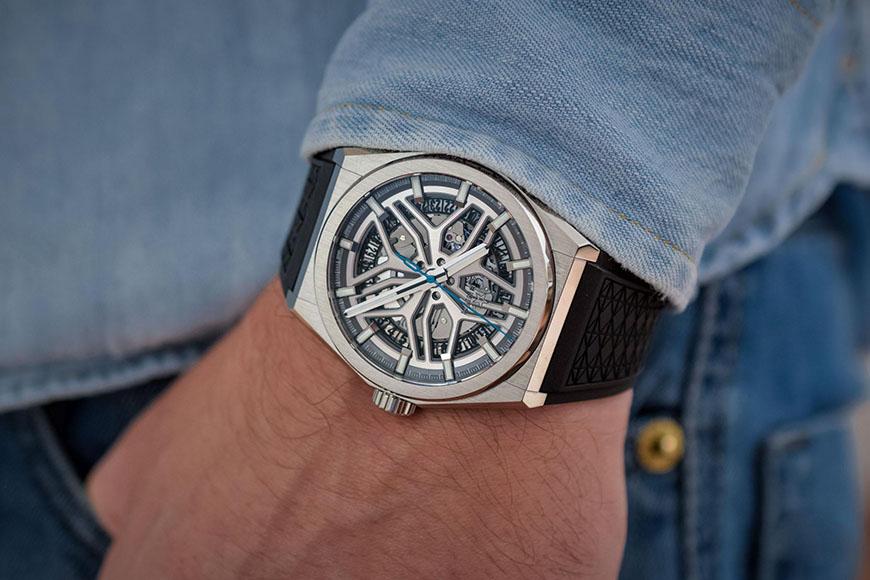 路虎的合作伙伴真力时推出了一款全新的纪念腕表 心动了吗