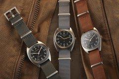 汉米尔顿飞行员先锋系列腕表再现70年代复古风