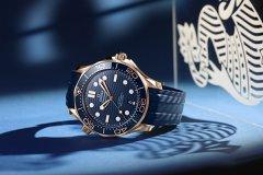 欧米茄海马系列300米潜水表再添力作