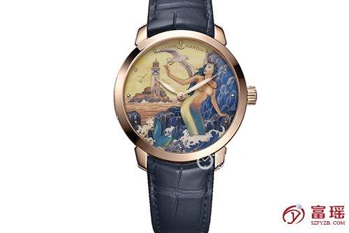雅典表鎏金系列3202-136LE-2/MANARA.10腕表