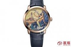 雅典表鎏金系列3202-136LE-2/MANARA.10腕表回收报价多少钱?
