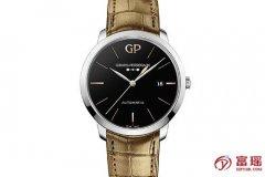 GP芝柏表1966系列49555-11-632-BB60腕表回收报价多少钱?