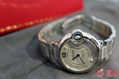 收二手手表卡地亚蓝气球系列WE902074腕表价格