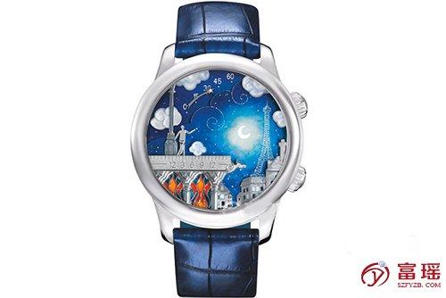 梵克雅宝诗意复杂功能系列VCARO8T400腕表回收