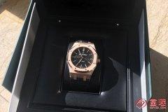 收手表吗?爱彼皇家橡树系列15400OR.OO.D002CR.01腕表