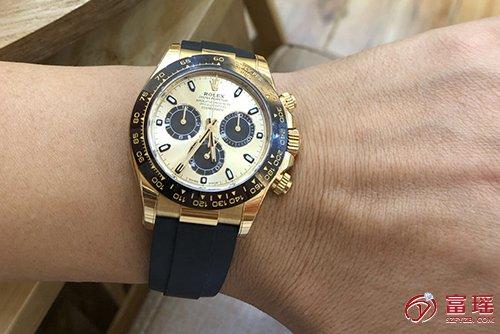 劳力士宇宙计型迪通拿系列M116518ln-0048腕表回收