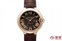 深圳二手手表店回收?卡地亚蓝气球系列W6920037腕表