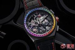 真力时手表回收价格?属于什么档次?