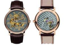 宝铂发表Damasquinage金银丝镶嵌手表回收好不好